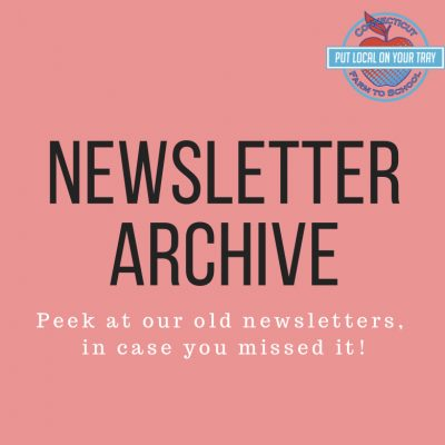 Newsletter archive ad