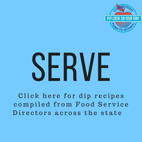 Serve local veggies