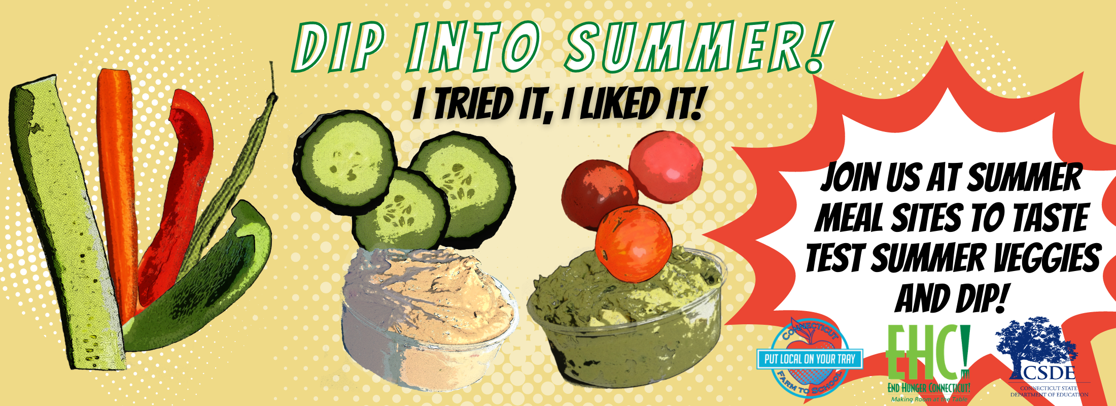 Dip into summer- I tried it I liked it!